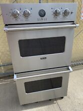 Viking VEDO5302SS 30  Stainless Electric Double Convection Wall Oven