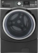 NEW GE GFW450SPMDG Front Load Steam Washer  4 5 Cu  Ft  Capacity  Grey