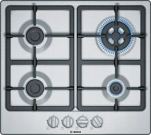 Bosch Series 4 PGH6B5B90 Hobs Stainless Steel Integrated Hob Of Gas   Plate