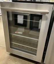 Jenn air JUB24FRERS 24  Under Counter Beverage Center Stainless Steel Right Hand