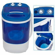9lbs Portable Compact Washing Machine with Washer   Spinner Timer Control