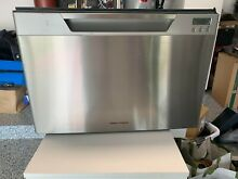 Fisher   Paykel Single Drawer Stainless Steel Drawer Dishwasher Almost NEW