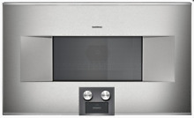 NEW Gaggenau 400 Series Model BM485710 Speed Microwave Oven 30  Retail  5999