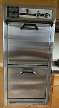 Vintage L H Custom built Built In Double Oven 24  With Manual