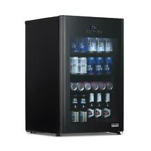 NewAir Beer Froster 125 Can Freestanding Beverage Fridge in Black NEW
