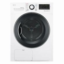 LG Frontload Ventless Dryer DLEC888W   LG Front Load Washer WM1388HW  White