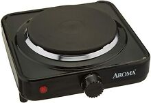 Aroma Housewares Ahp 303 Chp  Single Hot Plate Black Kitchen Dining New