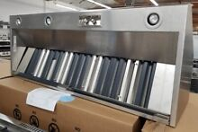 NEVER USED WOLF 60 INCH VENT HOOD BLOWER NOT INCLUDED STAINLESS STEEL