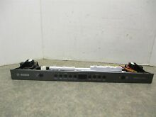 BOSCH DISHWASHER CONTROL PANEL BLACK STAINLESS PART  9001229881