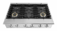 Electrolux ICON E36GC76PRS 36  6 Burner Gas Slide In Cooktop Brand New