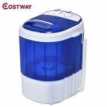 COSTWAY Mini Portable Washing Machine Electric Washer Compact Durable Laundry