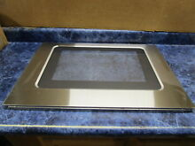 WHIRLPOOL RANGE OUTER DOOR GLASS STAINLESS PART  W10330078