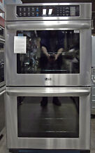 LG LWD3063ST 30  Double Electric Wall Oven with Convection