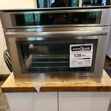 JennAir Euro Style JBS7524BS Steam   Convection oven 120v  plug in   24
