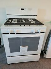 Gas Range  New out of the box  Replaced with Stainless Steel for new home