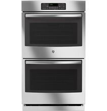 GE JT3500SFSS 30  Electric Double Wall Oven 10 0 cu  ft  Total Capacity