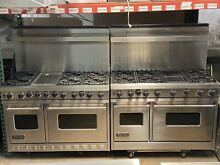 Viking range 30  48  60  Grill Griddle Gas Dual Fuel Stainless Island Wall Shelf