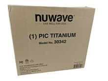 Nuwave PIC Titanium Precision Induction Portable Cooktop Stovetop 30342 USED