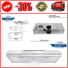 Cosmo 5MU30 30 in  Under Cabinet Range Hood with Ducted   Ductless Convertibl