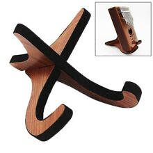 Portable Wooden Thumb Piano Stand Holder Bracket for 10 17 keys Kalimbas N0F1