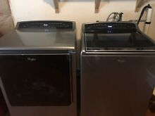 Whirlpool cabrio washer dryer  electric