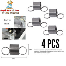 4 Pack Washer Suspension Spring For W10400895 Whirlpool Kenmore Washing Machine