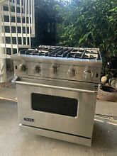 Viking professional 30 inch Gas Range Convection Oven Broiler Bake VGIC53024BSS