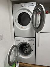 Electric LG washer and dryer set used