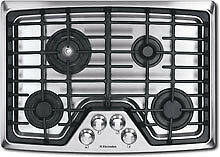 Electrolux Wave Touch 30  Gas Cooktop 4 Sealed Burners EW30GC55GS