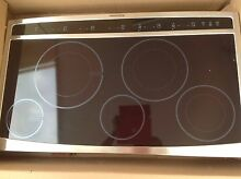 Electric flat cooktop
