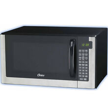 Oster 1 4 Cu  Ft  Microwave Oven  1200 Watt Digital w  Variable Power