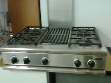 CS 364GL SSL   36  DCS RANGETOP WITH GRILL LP READY