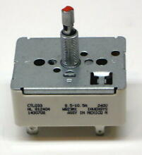 Range Burner Control Infinite Switch for GE WB23M1 CTL033 AP2622380 PS236365