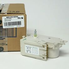 WH12X10255 Genuine GE Washer Washing Machine Timer Control AP3775089 PS960635