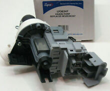 LP36347 for W10536347 Whirlpool Kenmore  Washer Pump Motor PS5136124 AP5650269