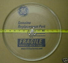 WB49X10129 GE Microwave Turntable Glass Tray Dish Plate PS956214 AP3793663