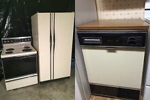 Refigerator Stove and Dishwasher  550 for all 3