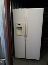 General Electric Hotpoint Side by side Refrigerator Freezer