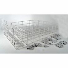 W10134647 Whirlpool Dishwasher Dishrack OEM W10134647  Does Not Come With Tines