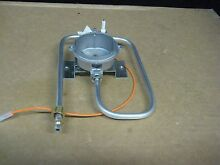 JENN AIR GAS COOK TOP LEFT FRONT ORIFICE HOLDER ELECTRODE AND TUBE MOD JGC1536BS