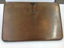 VINTAGE STOVE PARTS Chambers Classic Gas Range Oven Door Panel Antique Copper