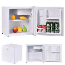1 8 Cu  Ft  Compact Single Reversible Door Mini Refrigerator and Freezer Office