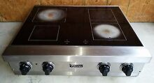 Viking 4 Burner Electric Smoothtop Range
