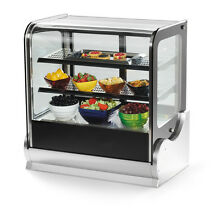 Vollrath 40862 36  Refrigerated Countertop Display Case Cubed Glass