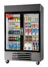 Beverage Air HBR49HC 1 G 49 CuFt Horizon Bottom Mount GLASS DOOR Reach In Cooler