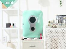 Mini Portable Refrigerator 8L Cooler   Warmer for cosmetic Fridge MINT
