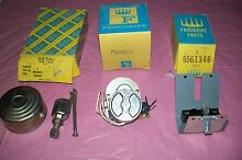VINTAGE 1950S FRIGIDAIRE STOVE PARTS   587812 7520276 6561346 SEE PICTURES   A