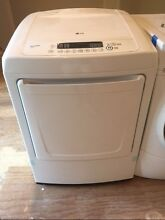 LG Sensor Dryer  state of the art   White in color   Excellent condition