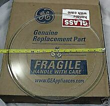 WB49X10108 GE Microwave Turntable Cooking Glass Tray Plate PS956195 AP3202284