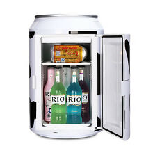 11L can cooler mini fridge portable xhc 11 refegerator for home car  white color